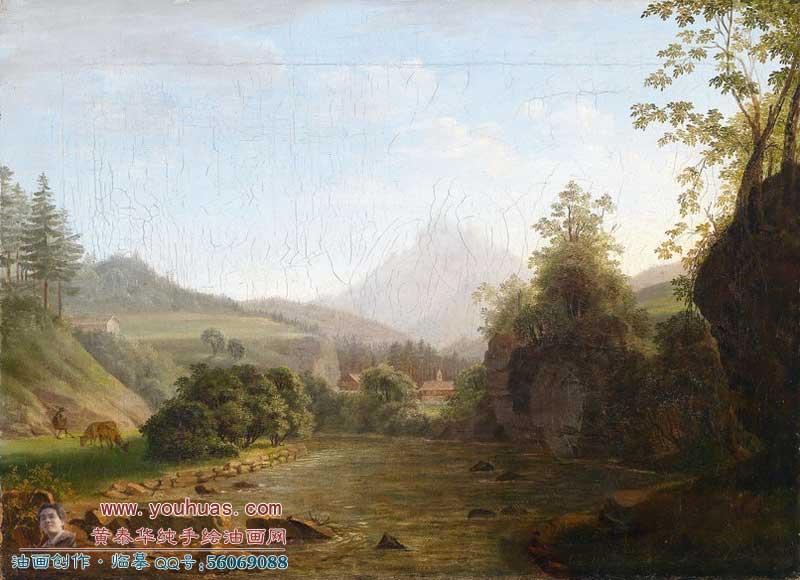 《巴甫洛夫斯克秋天的风景》_希施金油画作品欣赏