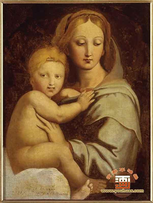 维纳斯在帕福斯_安格尔油画作品欣赏图片