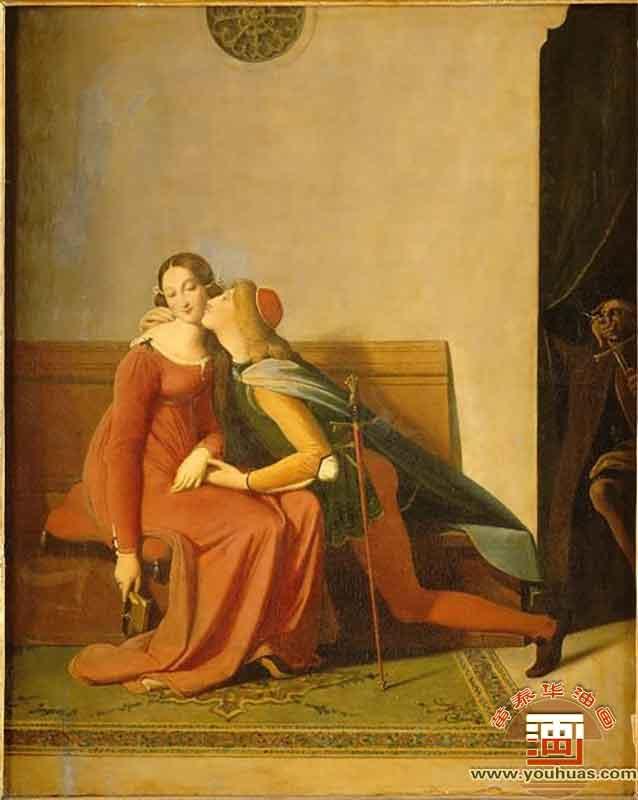 奥德修斯,荷马的凯旋_安格尔油画作品欣赏图片