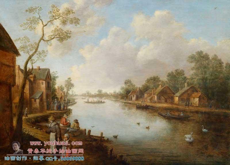 oot/19世紀古典油畫風景