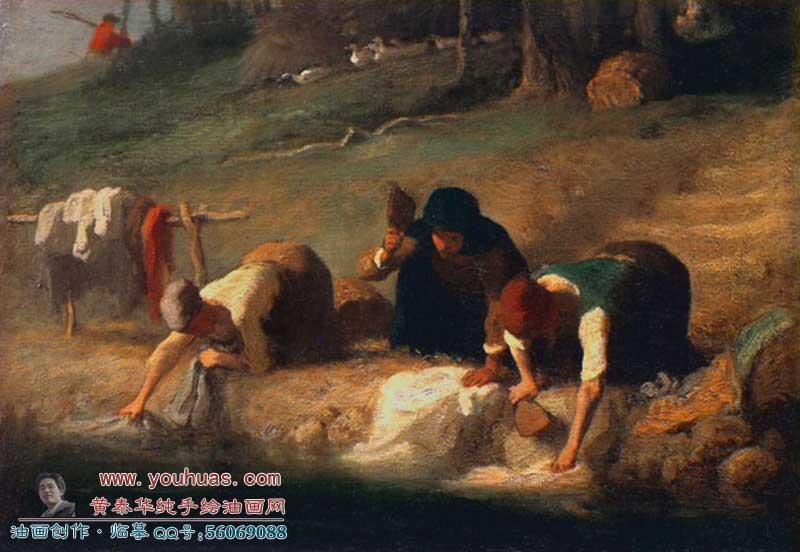 【米勒油画作品欣赏】米勒世界著名画家米勒油画欣赏