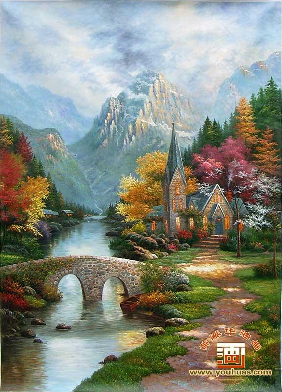 托马斯油画风景画