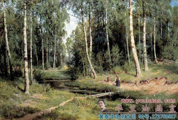 俄罗斯油画俄罗斯风景画