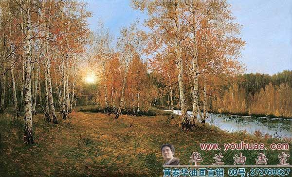 【俄罗斯油画风景】俄罗斯风格写实派希施金森林风景