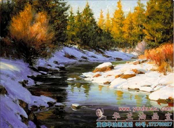 风景画油画作品图片大全 油画作品 秋天风景 油画 第图片